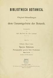 Cover of: Species ruborum