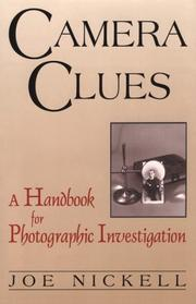 Camera clues by Joe Nickell