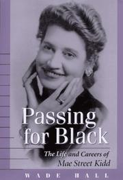 Cover of: Passing for Black