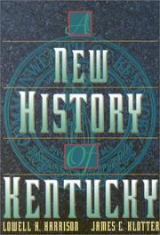 Cover of: A new history of Kentucky