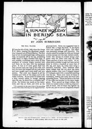 Cover of: A summer holiday in Bering Sea