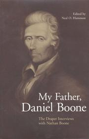 Cover of: My father, Daniel Boone