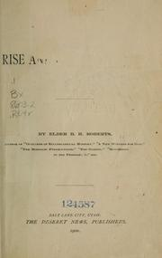 Cover of: The rise and fall of Nauvoo