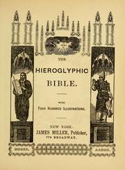 The hieroglyphic Bible