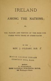 Cover of: Ireland among the nations | James O