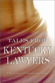 Cover of: Tales from Kentucky lawyers | William Lynwood Montell