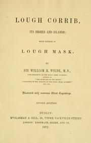 Cover of: Lough Corrib | W. R. Wilde