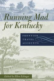 Cover of: Running Mad for Kentucky