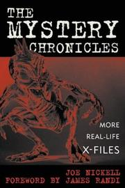 Cover of: The Mystery Chronicles | Joe Nickell