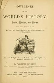 Cover of: Outlines of the world