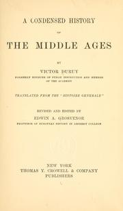 Cover of: A condensed history of the middle ages