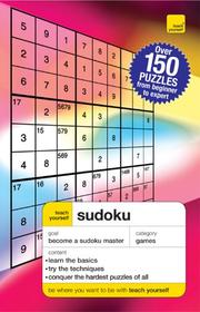 Cover of: Teach Yourself Sudoku (Teach Yourself) | James Pitts