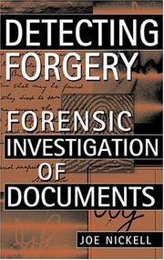 Cover of: Detecting forgery