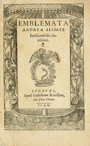 Cover of: Emblematum liber