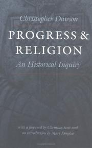 Progress and religion by Dawson, Christopher