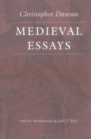 Medieval essays by Dawson, Christopher