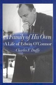 Cover of: family of his own | Charles F. Duffy