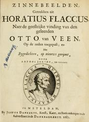Cover of: Quinti Horatii Flacci emblemata: imaginibus in aes incisis, notisq[ue], illustrata