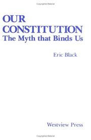 Cover of: Our Constitution | Eric Black