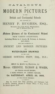 Cover of: Modern pictures of the British and Continental schools