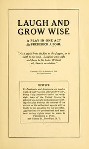 Cover of: B.B.Bean 1 413 536 2569 Laugh and grow wise: a play in one act