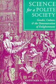 Cover of: Science for a Polite Society