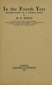 In the fourth year by H. G. Wells