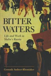 Cover of: Bitter waters