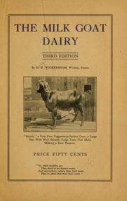 Cover of: milk goat dairy. | George Howard Wickersham