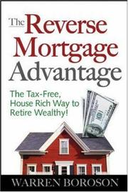 Cover of: The Reverse Mortgage Advantage | Warren Boroson