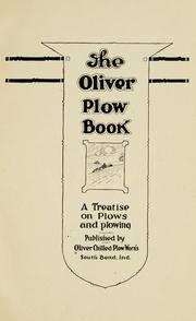 Cover of: Oliver plow book | Charles Allen Bacon