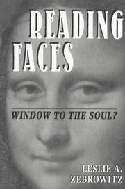 Cover of: Reading faces