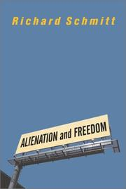 Cover of: Alienation and Freedom
