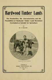 Cover of: Hardwood timber lands | Daniel A. Wallace
