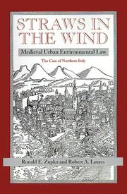 Cover of: Straws in the wind