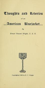 Cover of: Thoughts and reveries of an American bluejacket