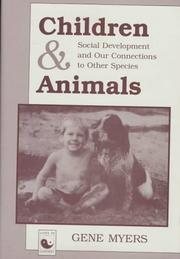 Cover of: Children and animals | Gene Myers