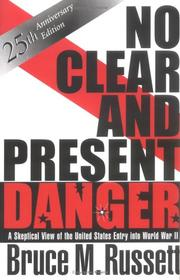 Cover of: No Clear and Present Danger