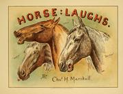 Cover of: Horse laughs | Charles Hunt Marshall