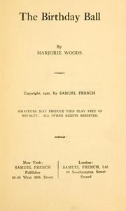 Cover of: birthday ball ... | Marjorie Woods