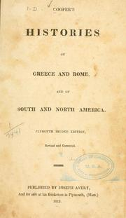 Cover of: Cooper
