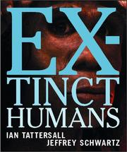 Cover of: Extinct humans | Ian Tattersall