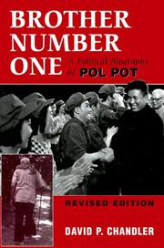 Cover of: Brother number one | David P. Chandler