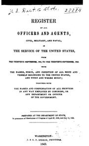 Official Register of the United States ... by United States Civil Service Commission.