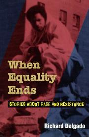Cover of: When equality ends