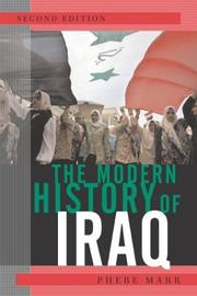 Cover of: The Modern History of Iraq by Marr, Phebe.