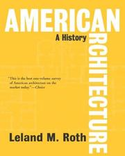 Cover of: American Architecture