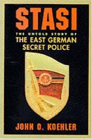 Cover of: Stasi | John O. Koehler