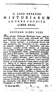Cover of: Historiarum libri by Titus Livius