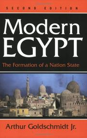 Cover of: Modern Egypt
